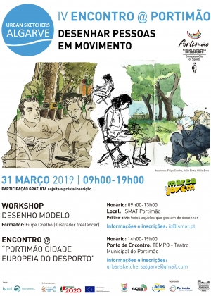 01-Cartaz Encontro-Urban-Sketchers ARU 2019