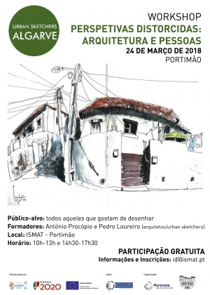02-Cartaz Workshop Urban Sketchers ARU 2018