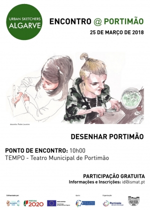 03-Cartaz  Encontro-Urban-Sketchers ARU 2018